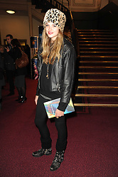 GABRIELLA ANSTRUTHER-GOUGH-CALTHORPE at the gala opening night of Cirque du Soleil's Varekai at the Royal Albert Hall, London on 5th January 2010.