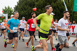 President of Slovenia Borut Pahor at 39. Maraton Treh Src on May 18, 2019 in Radenci, Slovenia. Photo by Blaž Weindorfer / Sportida