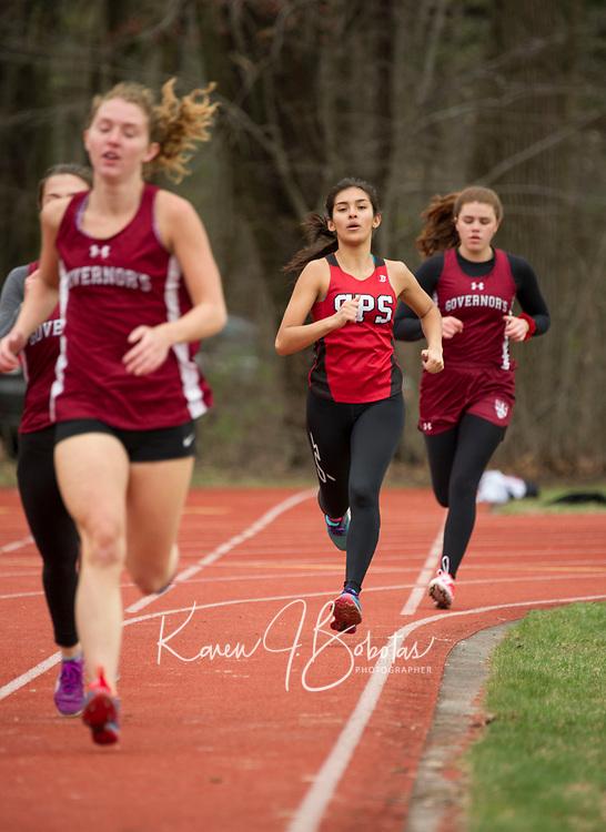 St Paul's School Varsity Track. ©2017 Karen Bobotas Photographer