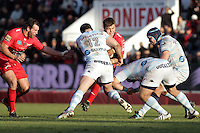 Jamie ROBERTS / Juan SMITH - 10.01.2015 - Toulon / Racing Metro - 16e journee Top 14<br />