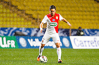 Joao Moutinho  - 21.01.2015 - Monaco / Evian Thonon   - Coupe de France 2014/2015<br /> Photo : Sebastien Nogier / Icon Sport