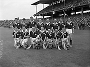 Interprovincial Railway Cup Hurling Final, .Munster v Connacht, .Connacht Team.07.06.1959, 06.17.1959, 7th June September,