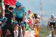 Miguel Angel Lopez (COL, Astana Pro Team) during the 73th Edition of the 2018 Tour of Spain, Vuelta Espana 2018, Stage 13 cycling race, Candas Carreno - La Camperona 174,8 km on September 7, 2018 in Spain - Photo Luca Bettini / BettiniPhoto / ProSportsImages / DPPI