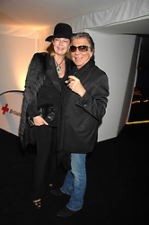 ROBERTO CAVALLI and his wife EVA at the London Red Cross Ball themed 'Honky Tonk Blues' held at 99 Upper Ground, London SE1 on 21st November 2007.<br />