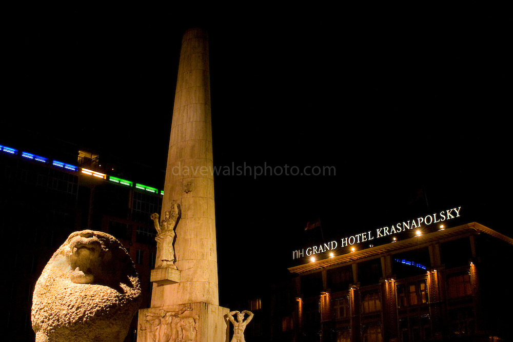National Monument and Hotel Krasnapolsky, Dam Square, Amsterdam