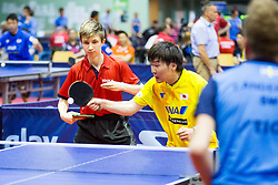 (Team JPN) NAKAJIMA Takuya and SPALEK Vit in action during 15th Slovenia Open - Thermana Lasko 2018 Table Tennis for the Disabled, on May 10, 2018 in Dvorana Tri Lilije, Lasko, Slovenia. Photo by Ziga Zupan / Sportida