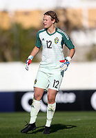 International Women's Friendly Matchs 2019 / <br /> Womens's Algarve Cup Tournament 2019 - <br /> Portugal v Sweden 2-1 ( Municipal Stadium - Albufeira,Portugal ) - <br /> Cajsa Andersson of Sweden