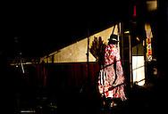 Abril y Mayo 2011/Bolivia<br /> Carmen Rosa La Luchado camina alrededor del Ring para disputar el pr&oacute;ximo combate de Lucha<br /> <br /> Foto:Juan Gonzalez