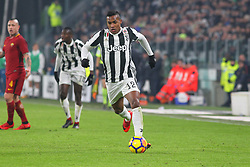 December 23, 2017 - Turin, Piedmont, Italy - Alex Sandro  (Juventus FC) in action during the Series A football match between Juventus FC and AS Roma at Allianz Stadium on 23 December, 2017 in Turin, Italy. .Juventus won 1-0 over Roma. (Credit Image: © Massimiliano Ferraro/NurPhoto via ZUMA Press)