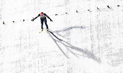 01.02.2019, Heini Klopfer Skiflugschanze, Oberstdorf, GER, FIS Weltcup Skiflug, Oberstdorf, im Bild Karl Geiger (GER) // Karl Geiger of Germany during the FIS Ski Jumping World Cup at the Heini Klopfer Skiflugschanze in Oberstdorf, Germany on 2019/02/01. EXPA Pictures © 2019, PhotoCredit: EXPA/ JFK