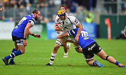 Justin Clegg of Worcester Warriors - Mandatory by-line: Alex James/JMP - 28/09/2019 - RUGBY - Recreation Ground - Bath, England - Bath Rugby v Worcester Warriors - Premiership Rugby Cup