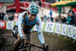 Wout VAN AERT of Belgium during the Men Elite race, UCI Cyclo-cross World Championship at Bieles, Luxembourg, 29 January 2017. Photo by Pim Nijland / PelotonPhotos.com | All photos usage must carry mandatory copyright credit (Peloton Photos | Pim Nijland)