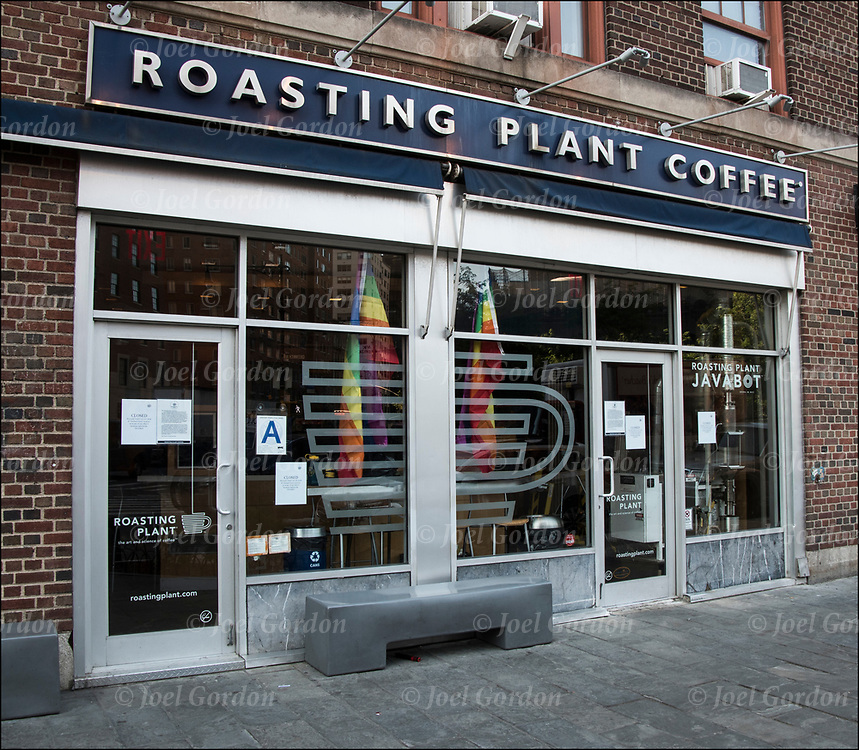 For the last 10 years Roasting Plant Coffee served the West Village community, providing quality fresh roasted coffed. On Monday 25, 2018 due to increasing rent they are relocating to a  location to take advantage of much better lease rates and terms.