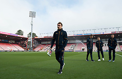 Christian Eriksen of Tottenham Hotspur walks off the Pitch at the Vitality stadium.  - Mandatory by-line: Alex James/JMP - 22/10/2016 - FOOTBALL - Vitality Stadium - Bournemouth, England - AFC Bournemouth v Tottenham Hotspur - Premier League