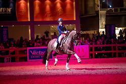 Dujardin Charlotte, (GBR), Valegro<br /> Show Life of Valegro<br /> KWPN Hengstenkeuring 2017<br /> © Dirk Caremans<br /> 04/02/17