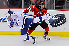 February 7, 2013: Tampa Bay Lightning at New Jersey Devils