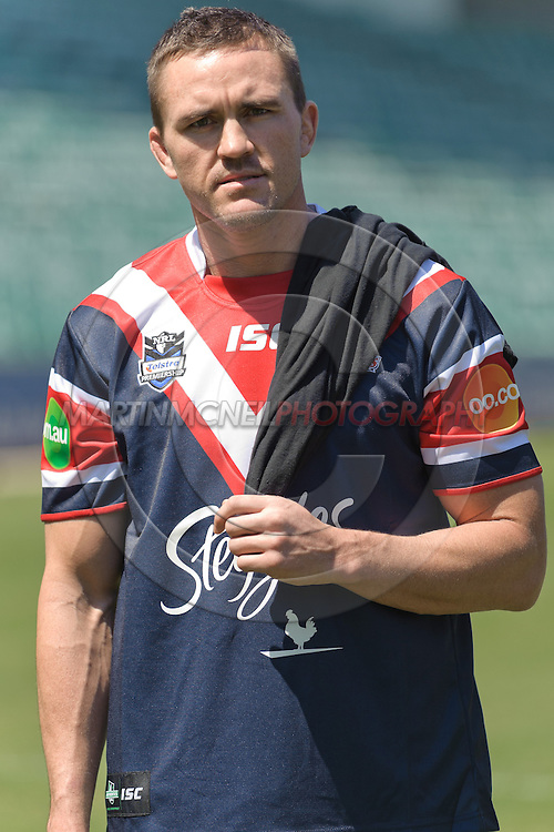 SYDNEY, AUSTRALIA, FEBRUARY 24, 2011: UFC fighter Kyle Noke is pictured on the field during a media event at Sydney Football Stadium in Sydney, Australia on February 24, 2011