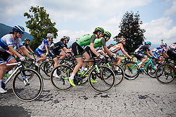 Sabrina Stultiens (NED) and Dani Rowe (GBR) at Giro Rosa 2018 - Stage 8, a 126.2 km road race from San Giorgio di Perlena to Breganze, Italy on July 13, 2018. Photo by Sean Robinson/velofocus.com