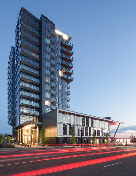 BlueShore Credit Union and Prescott Condominiums, North Vancouver | Francl Architecture | Wesgroup | 2014