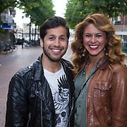 NLD/Hilversum/20130610 - Presentatie 1e album Sharon Doorson, Jody Bernal en partner