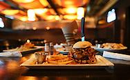 The Zeppelin burger at Zeppelins Bar & Grill, 5300 Edgewood Road NE, in Cedar Rapids on Monday, August 6, 2012.