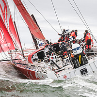 Volvo Ocean Race Finish 2018