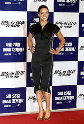 59636419.Actress Michelle Rodriguez attend a press conference for the premiere of the movie Fast and Furious 6 in Seoul, South Korea, May 13, 2013. Photo by: i-Images.UK ONLY