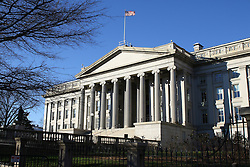 THEMENBILD - US-Finanzministerium in der 14th Street. Reisebericht, aufgenommen am 12. Jannuar 2016 in Washington D.C. // US Treasury in the 14th Street. Travelogue, Recorded January 12, 2016 in Washington DC. EXPA Pictures © 2016, PhotoCredit: EXPA/ Eibner-Pressefoto/ Hundt<br /> <br /> *****ATTENTION - OUT of GER*****