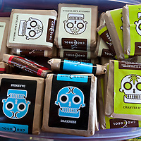 Some of ChocoSol's packaged chocolate.
