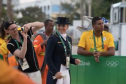 Schneider Dorothee, GER<br /> Horse Inspection Jumping<br /> Olympic Games Rio 2016<br /> © Hippo Foto - Dirk Caremans<br /> 12/08/16