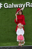 29/07/2017 Layla and Mum Michelle Kenny from Offaly on Plate day of the Galway Races.   Photo:Andrew Downes, xposure