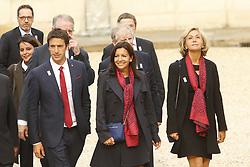 September 15, 2017 - Paris, France, France - Tony Estanguet - Anne Hidalgo - Valerie Pecresse (Credit Image: © Panoramic via ZUMA Press)