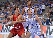 DESCRIZIONE: Torino FIBA Olympic Qualifying Tournament Grecia Croazia<br /> GIOCATORE: Calate Nick Saric Dario<br /> CATEGORIA: Tagliafuori CROATIA CROAZIA GREECE GRECIA<br /> GARA: FIBA Olympic Qualifying Tournament Grecia-Croazia<br /> DATA: 08/07/2016<br /> AUTORE: Agenzia Ciamillo-Castoria
