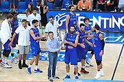 Premiazione team Italia, Nazionale italiana maschile senior - Trentino basket cup 2017 ITALIA - OLANDA ITALY HOLLAND, FIP 2017, Trento 30/07/2017 foto Ciamillo-Castoria/Bertani