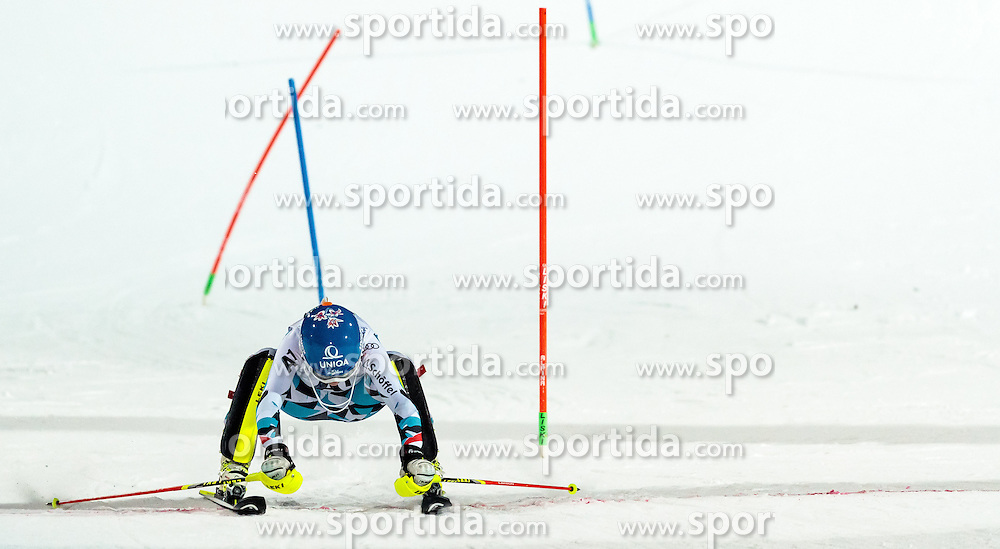 10.01.2017, Hermann Maier Weltcupstrecke, Flachau, AUT, FIS Weltcup Ski Alpin, Flachau, Slalom, Damen, 2. Lauf, im Bild Bernadette Schild (AUT) // Bernadette Schild of Austria during the 2nd run of ladie's Slalom of FIS ski alpine world cup at the Hermann Maier Weltcupstrecke in Flachau, Austria on 2017/01/10. EXPA Pictures © 2017, PhotoCredit: EXPA/ Johann Groder