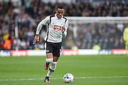 Derby County midfielder Tom Ince (10) during the EFL Sky Bet Championship match between Derby County and Sheffield Wednesday at the iPro Stadium, Derby, England on 29 October 2016. Photo by Jon Hobley.