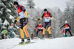 HOSCH Vivian Guide: SCHLEE Norman, Biathlon Middle Distance, Oberried, Germany