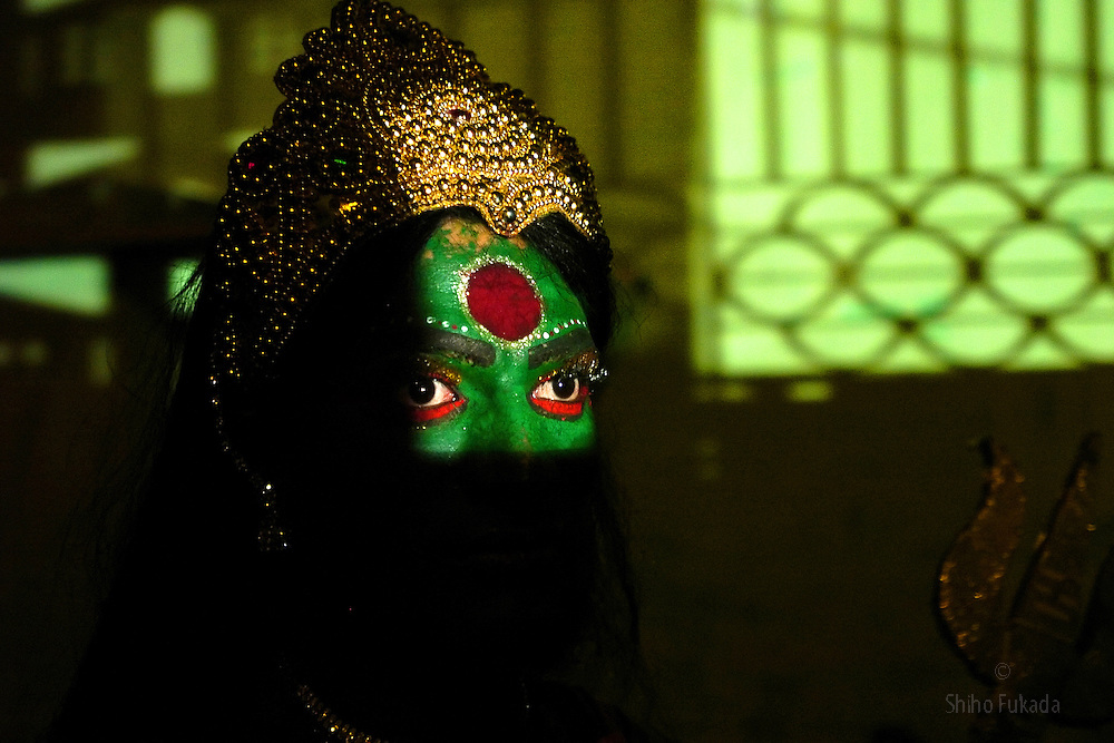 A transgender in Chennai, India. <br />