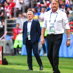 Didier Deschamps head coach of France during the FIFA World Cup Group C match between Denmark and France at Luzhniki Stadium on June 26, 2018 in Moscow, Russia. (Photo by Anthony Dibon/Icon Sport)