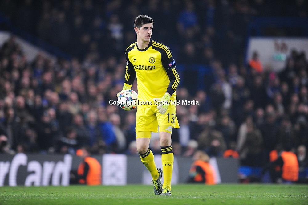 Thibaut COURTOIS - 11.03.2015 - Chelsea / Paris Saint Germain - 1/8Finale Champions League<br />
