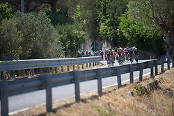 Lucinda Brand (NED) of Team Sunweb leads the chase on Stage 8 of the Giro Rosa - a 141.8 km road race, between Baronissi and Centola fraz. Palinuro on July 7, 2017, in Salerno, Italy. (Photo by Balint Hamvas/Velofocus.com)