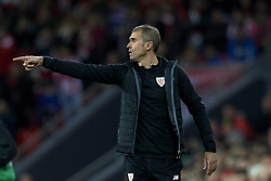 February 10, 2019 - Bilbao, Vizcaya, Spain - Gaizka Garitano of Athletic during the week 23 of La Liga between Athletic Club and FC Barcelona at San Mames stadium on February 10 2019 in Bilbao, Spain. (Credit Image: © Jose Breton/NurPhoto via ZUMA Press)