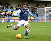Millwall defender Shaun Cummings during the Sky Bet League 1 match between Millwall and Bury at The Den, London, England on 28 November 2015. Photo by David Charbit.