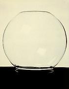 glass bowl upside down