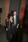 Yoko Ono and Sir Nicholas Serota, Turner Prize 2006. Tate Gallery. London. 4 December 2006. ONE TIME USE ONLY - DO NOT ARCHIVE  © Copyright Photograph by Dafydd Jones 248 CLAPHAM PARK RD. LONDON SW90PZ.  Tel 020 7733 0108 www.dafjones.com
