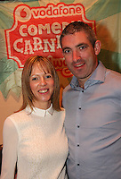 repro free: Vodafone Comedy Carnival : <br /> <br /> Pictured at the launch of the Vodafone Comedy Carnival in the Roisin Dubh were, Kathryn and Declan O'Rielly from Cabinteely . The 2016 Vodafone Comedy Carnival runs as part of Vodafone&rsquo;s Centre Stage and is sure to fill the &lsquo;Eyre&rsquo; with laughter with performances from international and home grown comedians over the October bank holiday weekend (25th to 31st of October). Shows will take place in multiple venues across the city, including the brand new venue &lsquo;The Red Box&rsquo; at Eyre Square. Tickets on sale from Monday 29th August. For more for info go to  HYPERLINK &quot;http://www.vodafonecomedycarnival.com&quot; www.vodafonecomedycarnival.com&nbsp; <br /> Photo: xposure.