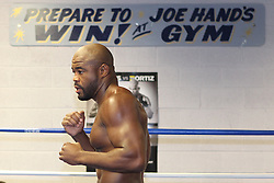 August 3, 2011; Philadelphia, PA; USA; Fighter Workouts for UFC 133 at Joe Hands Gym in Philadelphia, PA.