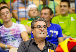 Father of Helena Boada during basketball match between National teams of Slovenia and Spain in Round 1 at Day 2 of Eurobasket 2013 on September 5, 2013 in Arena Zlatorog, Celje, Slovenia. (Photo by Vid Ponikvar / Sportida.com)