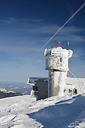 Mount Washington Observatory's tower.