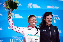 Liliana Blanca Moreno Canchon (COL) is Queen of the Mountains at Amgen Tour of California Women's Race empowered with SRAM 2019 - Stage 1, a 96.5 km road race in Ventura, United States on May 16, 2019. Photo by Sean Robinson/velofocus.com